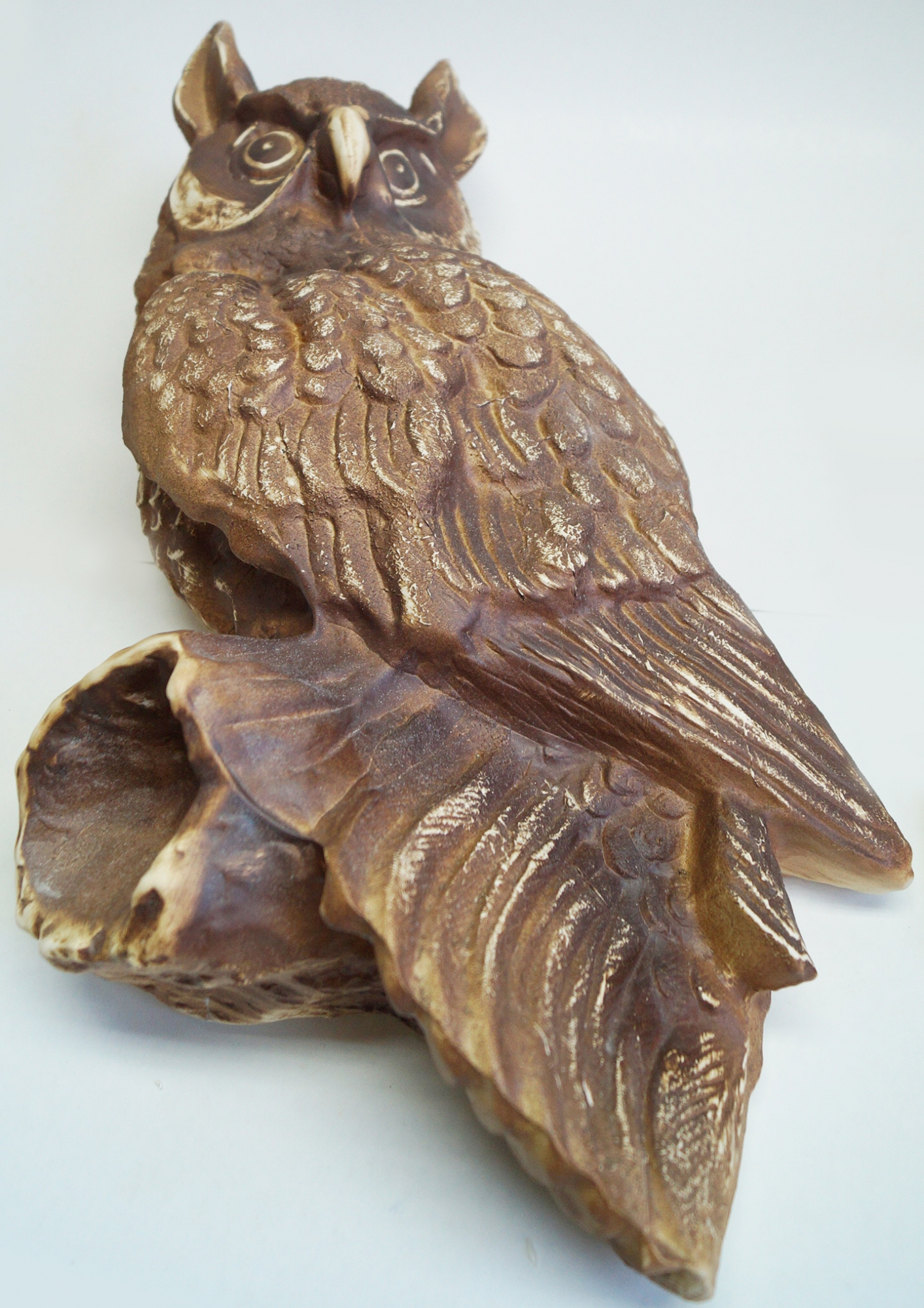 ceramic figure owl for hanging for garden / Online Art Shop The ...