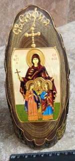 Icon St. Sofia Faith Hope and Love