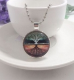 Necklace One tree shadow