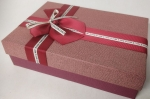 Small rectangular red gift box