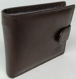 Wallet from natural leather MD COLLECTION